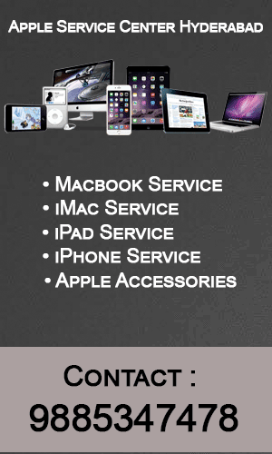 apple service center in hyderabad, ameerpet, kondapur, kukatpally, uppal